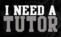 Need A Tutor
