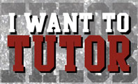 Want A Tutor