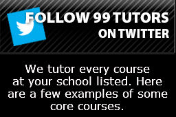 Courses We Tutor