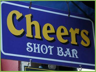 Cheers Shot Bar