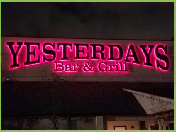 Yesterdays bar and grill